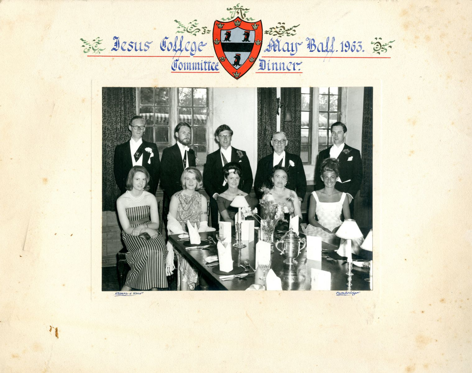 May Ball Committee dinner 1963