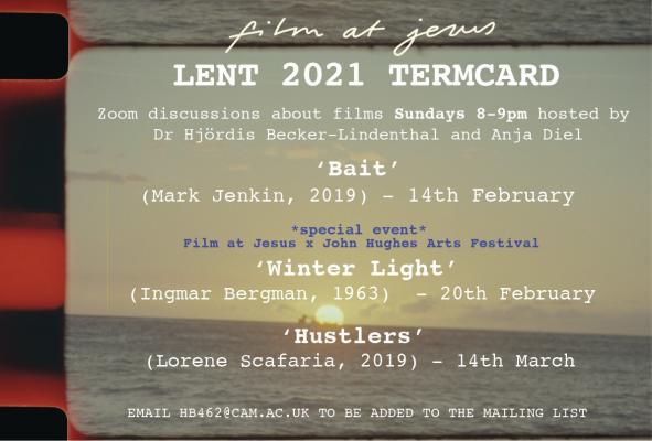 Lent 2021 Termcard