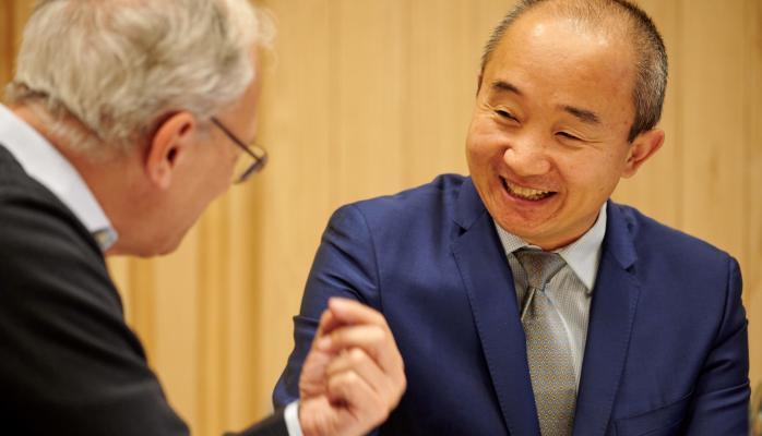 Professor Michael Landesmann and Dr Ma Mingjie