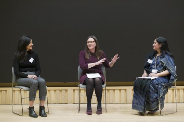 Panel with Pauline Rose