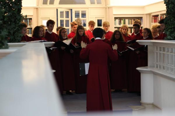 Choir singing. Photo: Aiden Chan