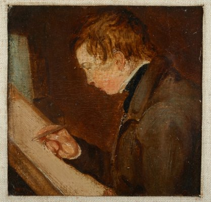 John Charles Constable by his father. Reproduced courtesy of the Britten-Pears Foundation.