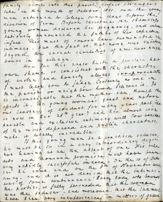 Robert Forby letter to William French, p2