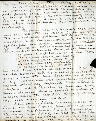 Robert Forby letter to William French, p3