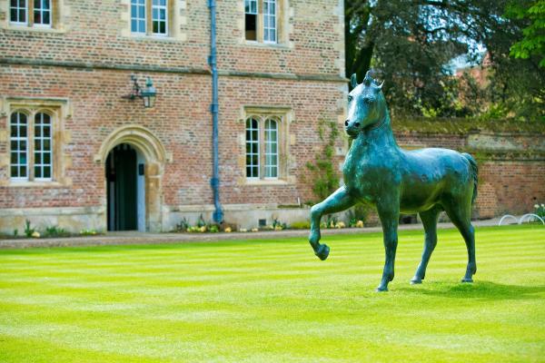 Bronze Horse by Barry Flanagan