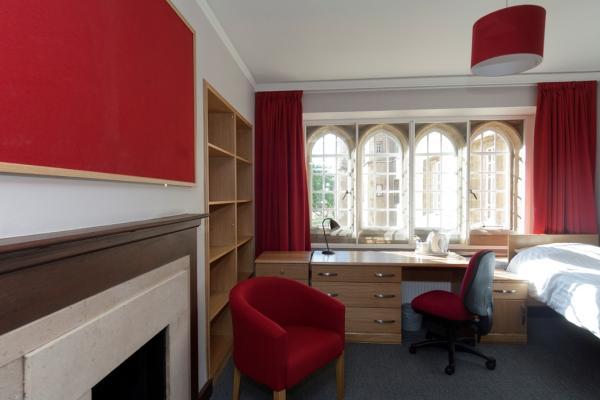 Chapel court bedroom