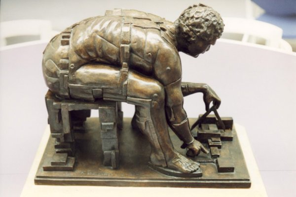 Newton after Blake by Eduardo Paolozzi