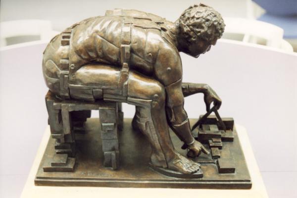 Newton after Blake by Eduardo Paolozzi