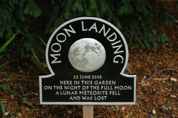 Moon Landing by Cornelia Parker