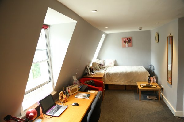 Photo of a bedroom in a shared house