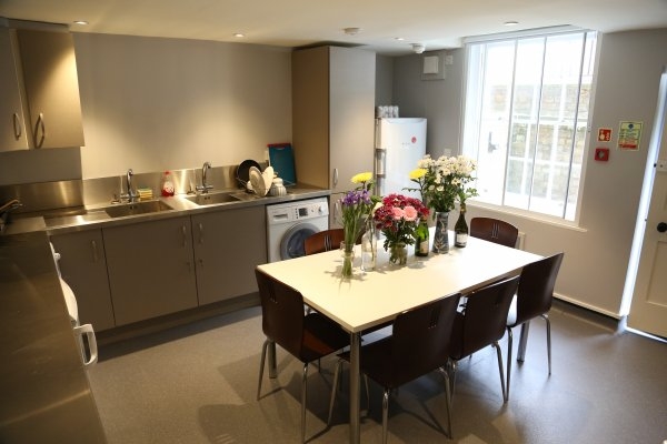 Photo of a kitchen in a shared house