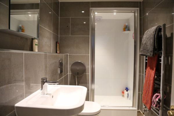 Photo of a bathroom in a shared house
