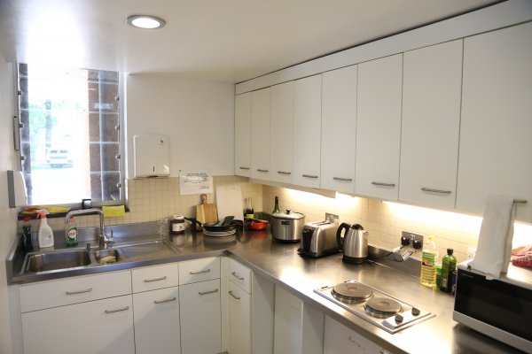Photo of a kitchen in North Court Accommodation
