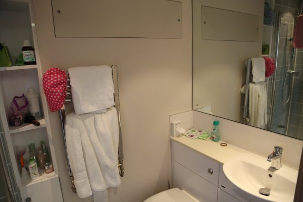 Photo of a bathroom in Chapel Court Accommoation