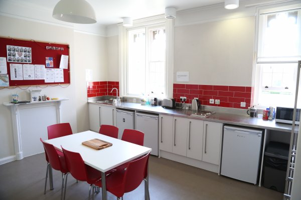 Photo of a kitchen in Chapel Court Accommoation