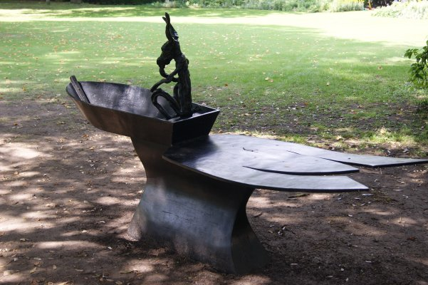 Sculler by Barry Flanagan
