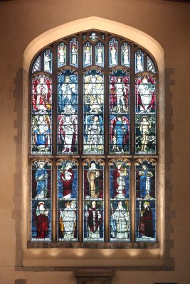 Great South window in Jesus College Chapel