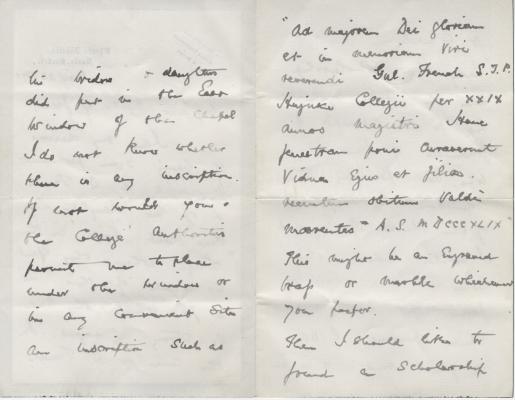 Sir Edward Kay letter pp2-3