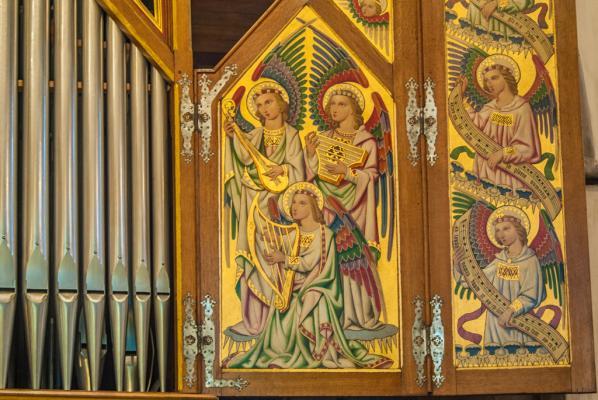 Sutton Organ detial