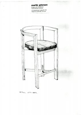 Chair design 1