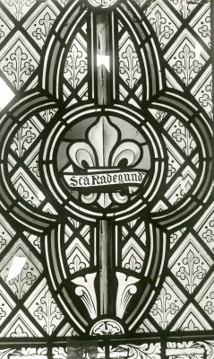 1937 photograph showing St Radegund's name