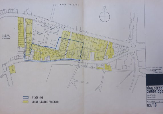 King Street redevelopment early proposals: Showing an outline for the proposed development of Stage One