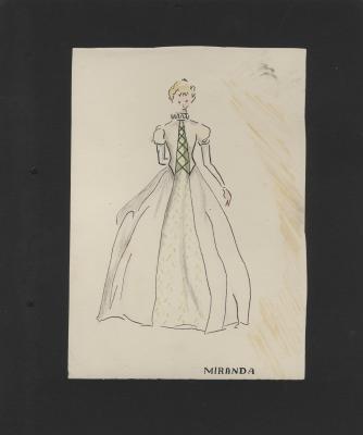 Costume design for Miranda