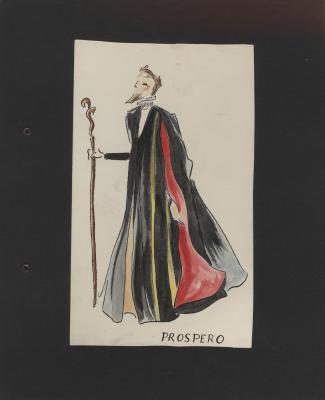 Costume design for Prospero
