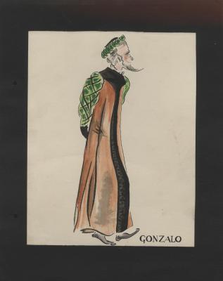 Costume design for Gonzalo