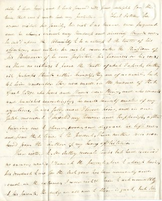 Maria Parish's first letter to William French, p2