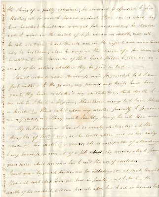 Maria Parish's first letter to William French, p4