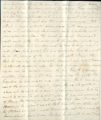 Maria Parish's second letter to William French, p2