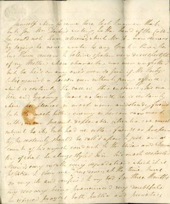 Maria Parish's second letter to William French, p5