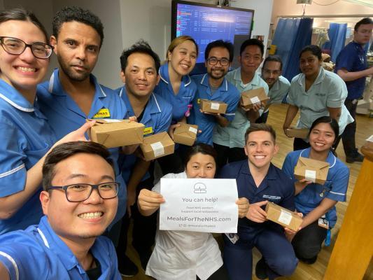 Staff at the National Hospital for Neurology and Neurosurgery © RJ Avila