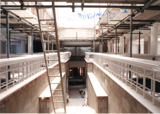 Quincentenary Library unfinished first floor