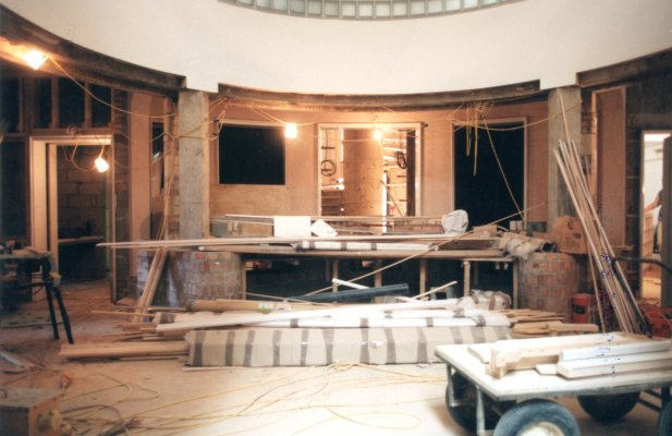 Quincentenary Library unfinished foyer