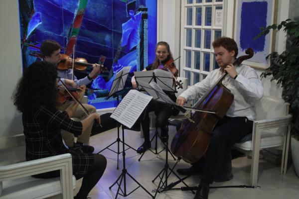String quartet. Photo: Aiden Chan