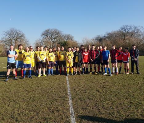 Students vs Staff/Fellows Football Match