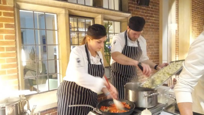 Health Cooking Demonstration