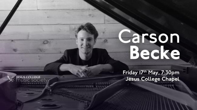 Image of Carson Becke, Piano