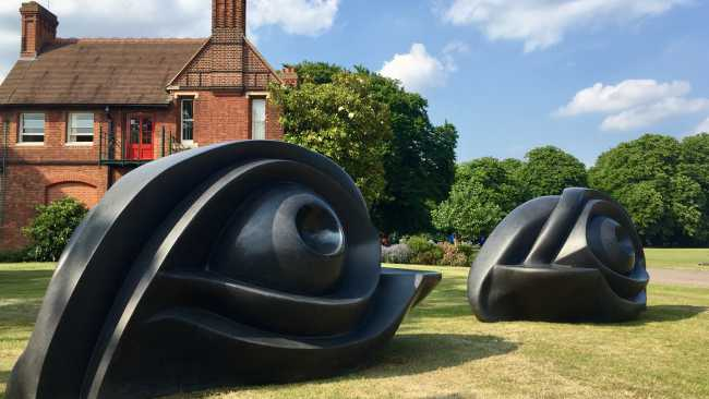 Image of Sculpture in the Close