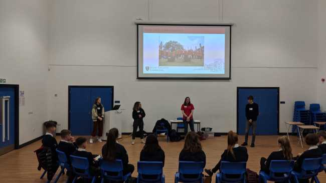 Image of North East schools tour