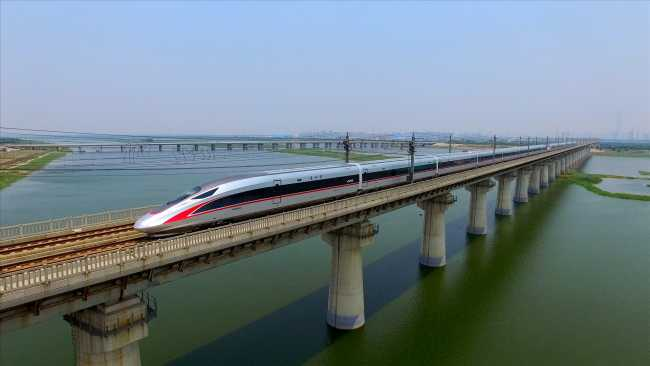 Image of The history of China's high-speed trains