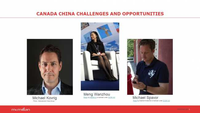 Image of Canada and China: challenges and opportunities