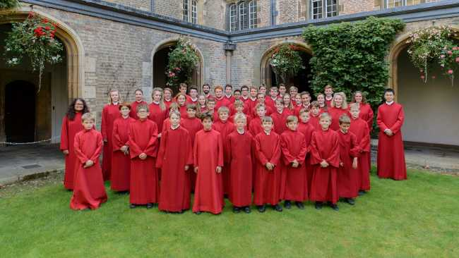 Image of Jesus College Chapel Choir