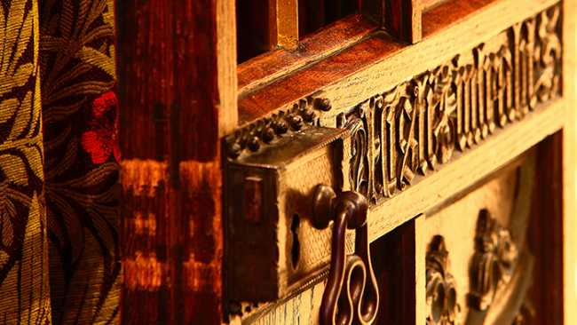 Image of Photograph of Chapel gate detail