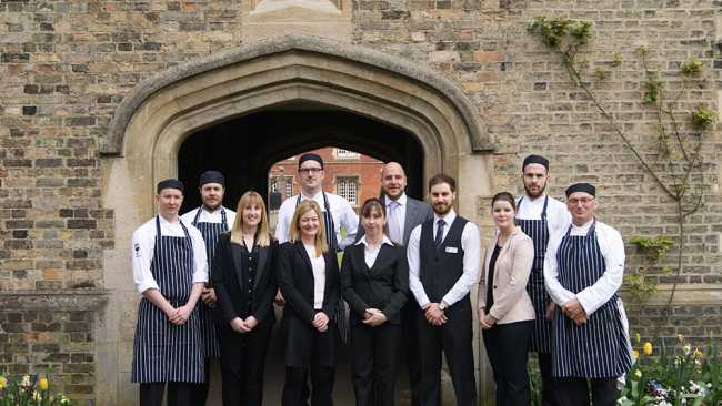 Image of Conference and Catering team