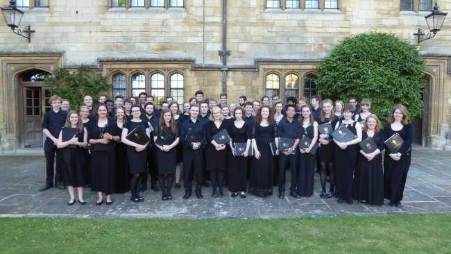 Image ofCambridge and Oxford in harmony for Choral Classics concert