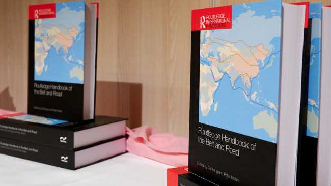 Image ofRoutledge Handbook of the Belt and Road: book launch and BRI seminar