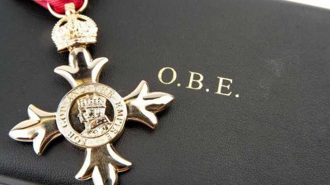 Image ofJesuans awarded New Year Honours